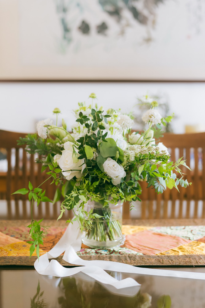 Bride S's Wedding and Church Flowers  by Florals Actually - 005