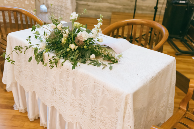Bride S's Wedding and Church Flowers  by Florals Actually - 006