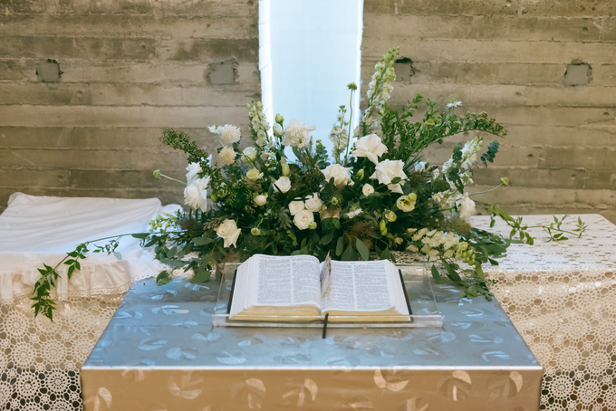 Bride S's Wedding and Church Flowers  by Florals Actually - 007