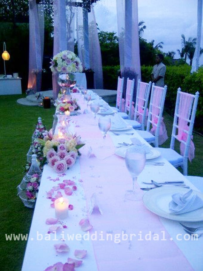 Add To Board White And Pink Theme By Bali Wedding Planner