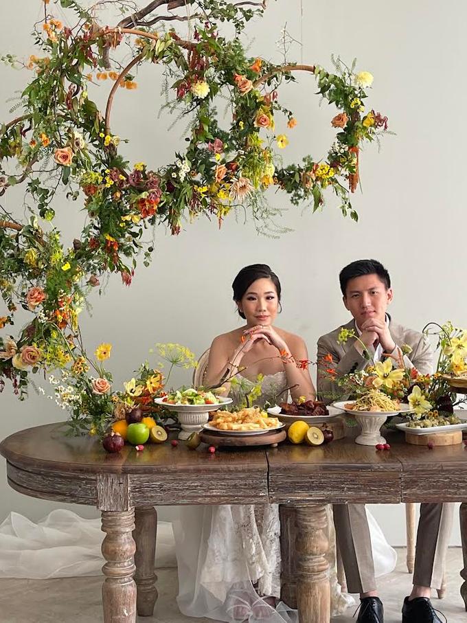 Prewedding Photoshoot Decor by Flower Getaway - 003