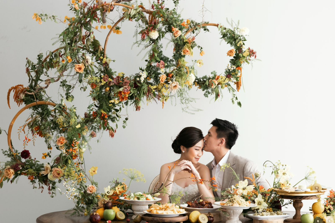 Prewedding Photoshoot Decor by Flower Getaway - 008