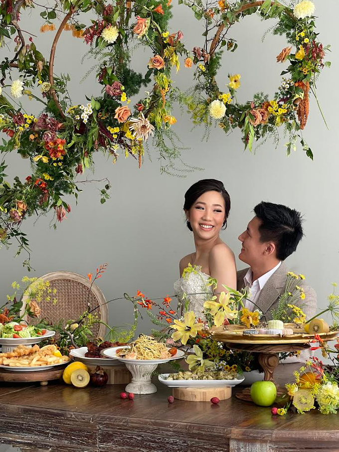 Prewedding Photoshoot Decor by Flower Getaway - 006