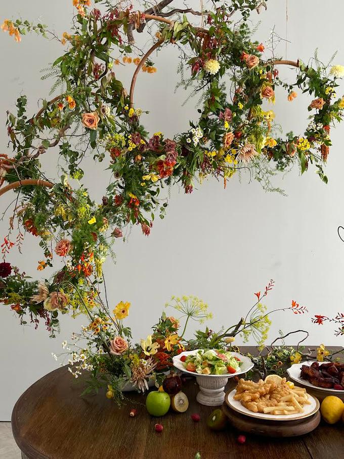 Prewedding Photoshoot Decor by Flower Getaway - 013