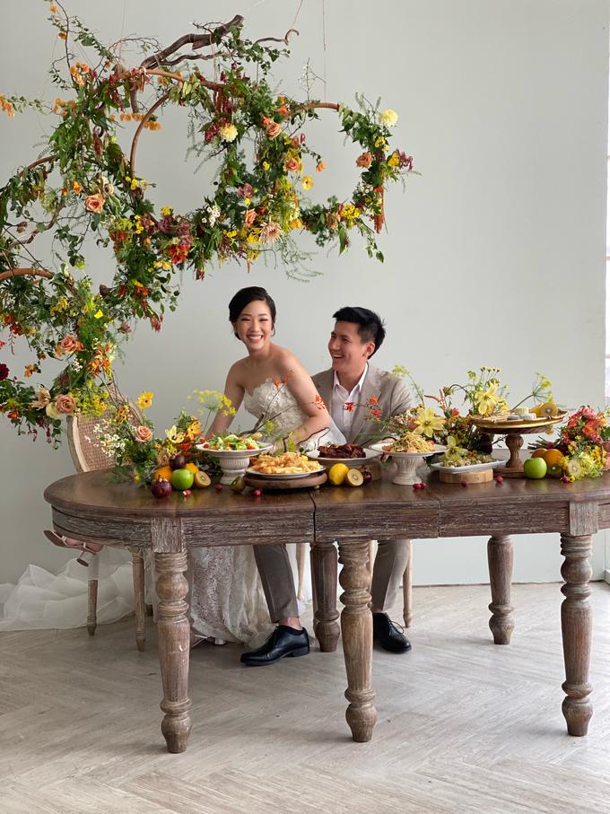 Prewedding Photoshoot Decor by Flower Getaway - 015