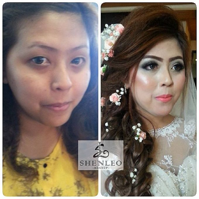 wedding makeup by ShenLeo Makeup - 008