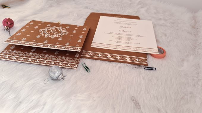 Amazing collection of Foil Stamped Wedding Invitations by 123WeddingCards - 001