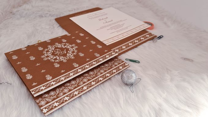 Amazing collection of Foil Stamped Wedding Invitations by 123WeddingCards - 002