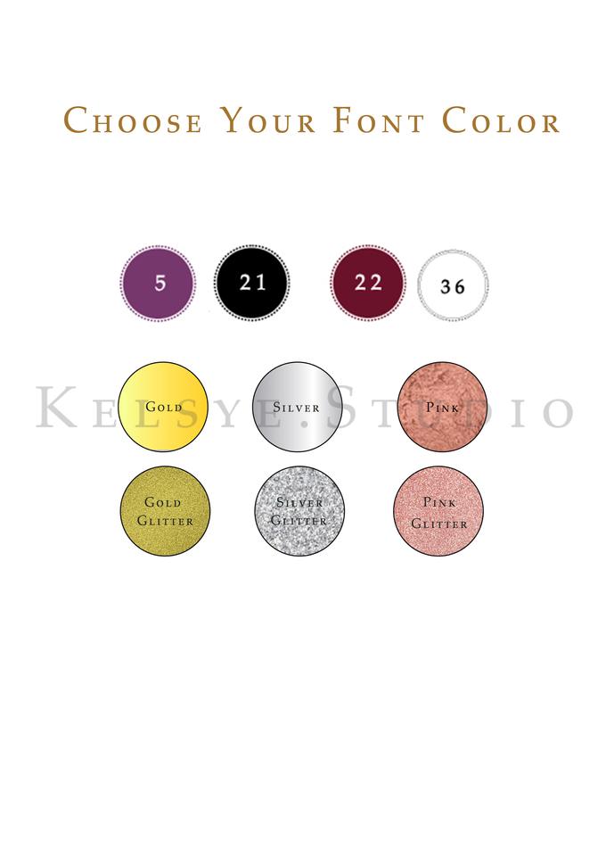 Personalized Velvet Pouch Clutch by Kelsye Studio - 004