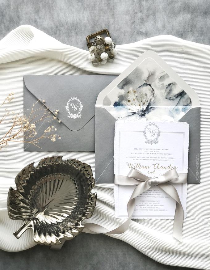 William & Meriani's letterpress wedding invitation  by Fornia Design Invitation - 007