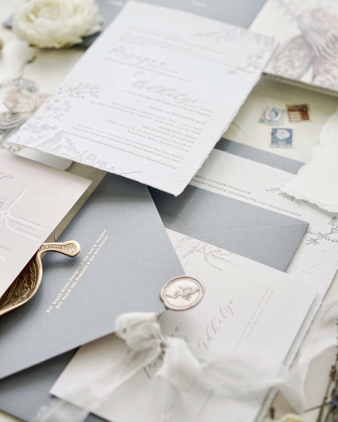 Ina & adhityo by Fornia Design Invitation - 002