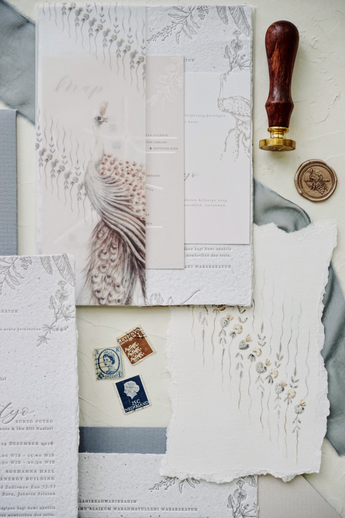 Ina & adhityo by Fornia Design Invitation - 003