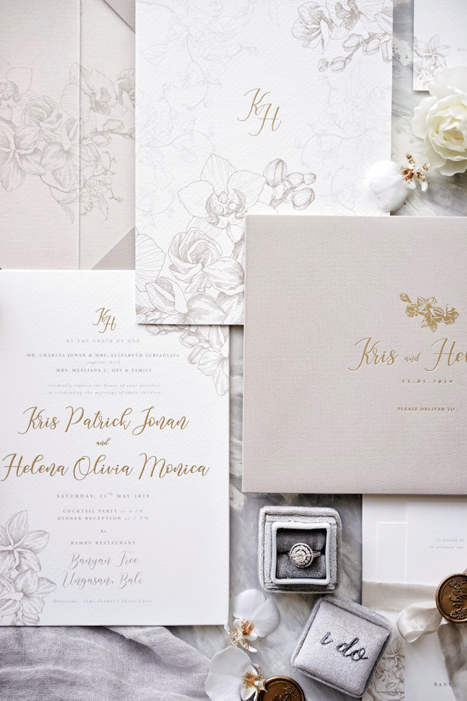 Kris & Helena by Fornia Design Invitation - 001