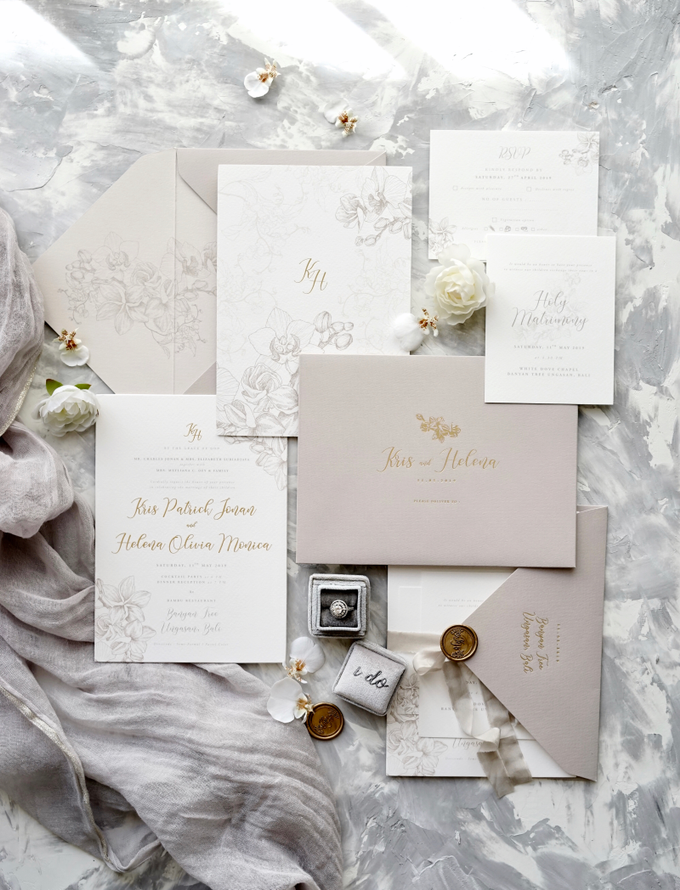 Kris & Helena by Fornia Design Invitation - 007