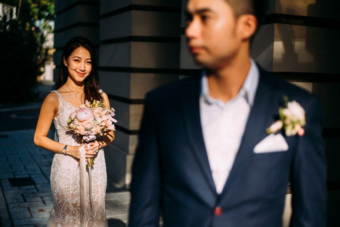 Fort Canning Hotel Wedding Kelvin and Fiona by Hotel Fort Canning - 003