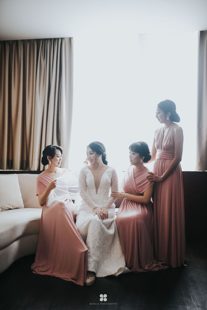 Wedding Day by Daniel H - Sansan & Livia by Miracle Photography - 021