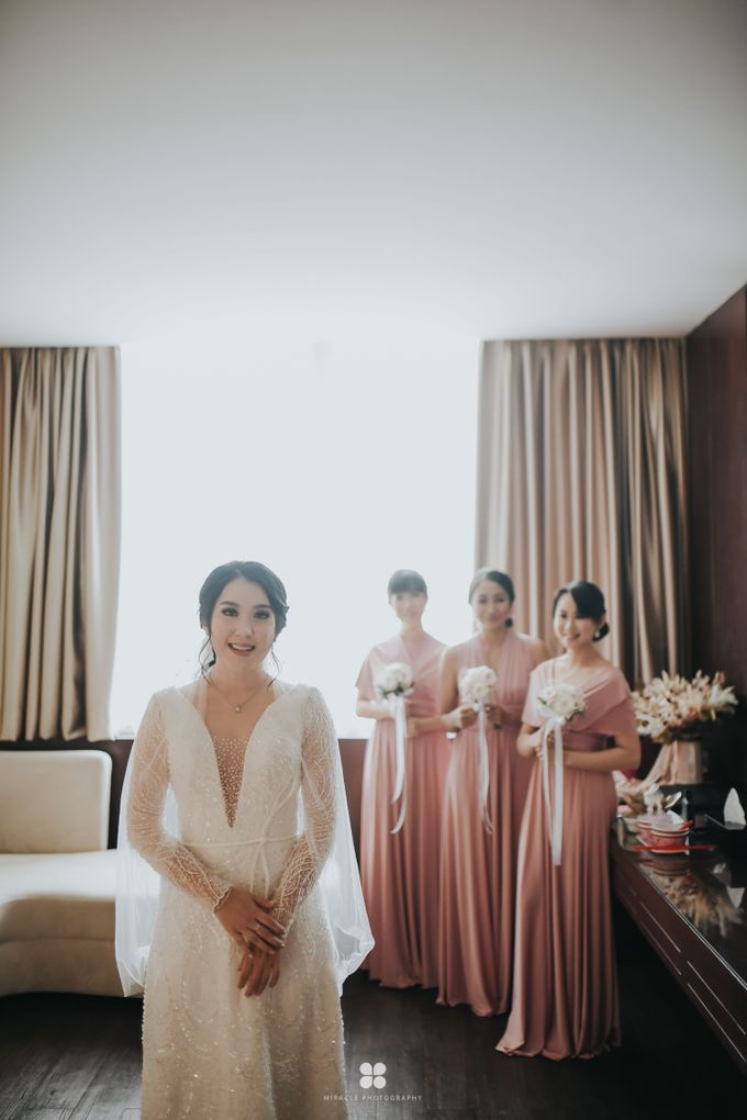 Wedding Day by Daniel H - Sansan & Livia by Miracle Photography - 023
