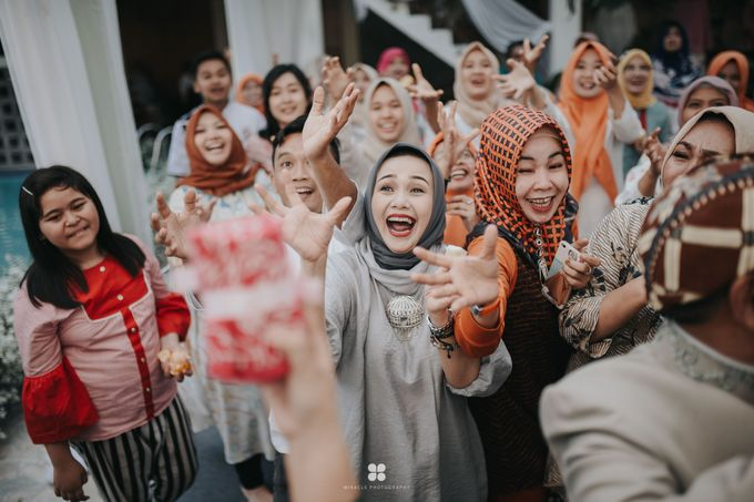 Wedding Day by Imam - Putri & Abid by Miracle Photography - 004