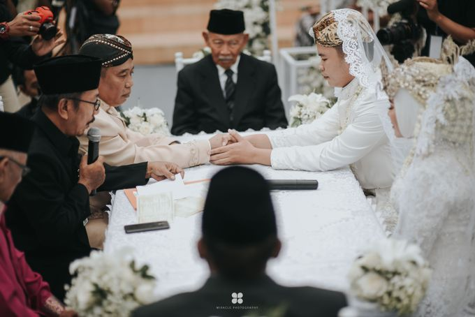 Wedding Day by Imam - Putri & Abid by Miracle Photography - 025
