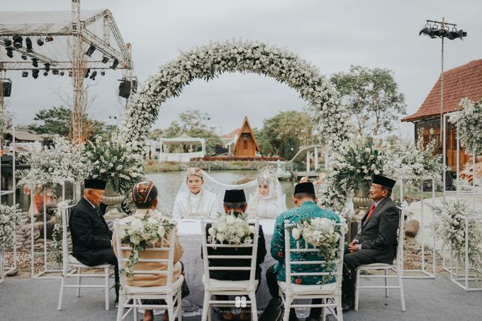 Wedding Day by Imam - Putri & Abid by Miracle Photography - 038