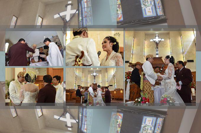 Pemberkatan Pernikahan Diza & Dani by Creative Fotografi - 011