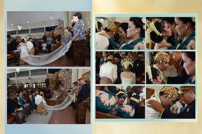 Pemberkatan Pernikahan Diza & Dani by Creative Fotografi - 012