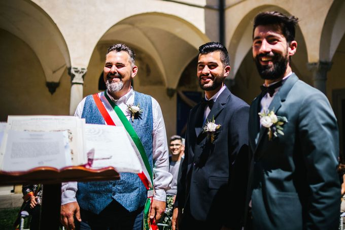 Outdoor wedding in Tuscany by Laura Barbera Photography - 022