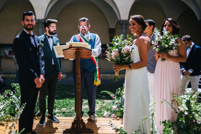 Outdoor wedding in Tuscany by Laura Barbera Photography - 024