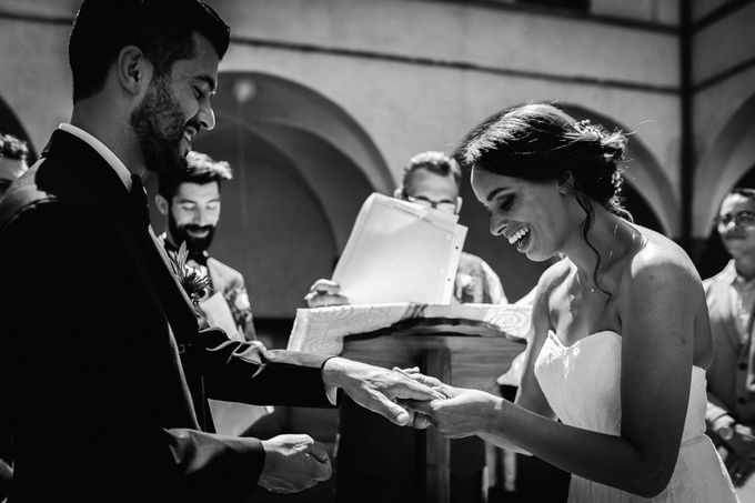 Outdoor wedding in Tuscany by Laura Barbera Photography - 026