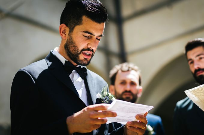 Outdoor wedding in Tuscany by Laura Barbera Photography - 028