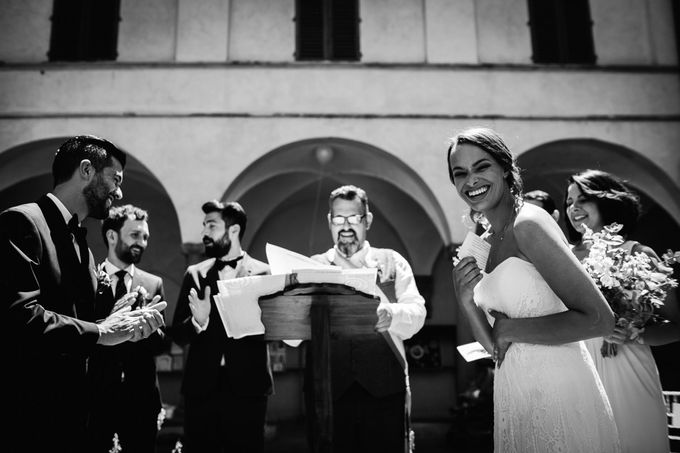 Outdoor wedding in Tuscany by Laura Barbera Photography - 031