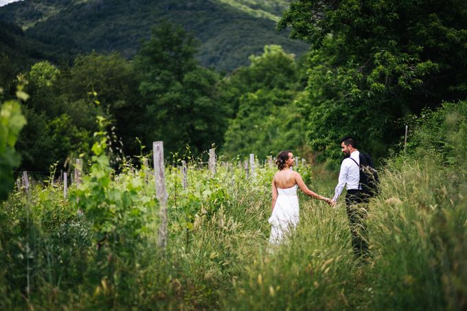 Outdoor wedding in Tuscany by Laura Barbera Photography - 038