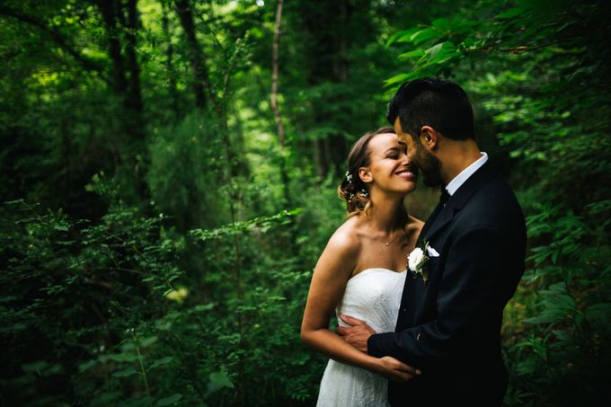 Outdoor wedding in Tuscany by Laura Barbera Photography - 040