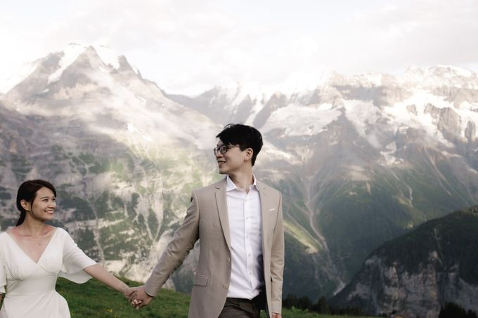 Swiss Alps Adventurous Pre-wedding Session of Hong Kong Couple by Fotomagoria - 021