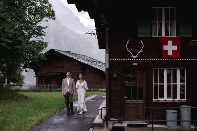 Swiss Alps Adventurous Pre-wedding Session of Hong Kong Couple by Fotomagoria - 022