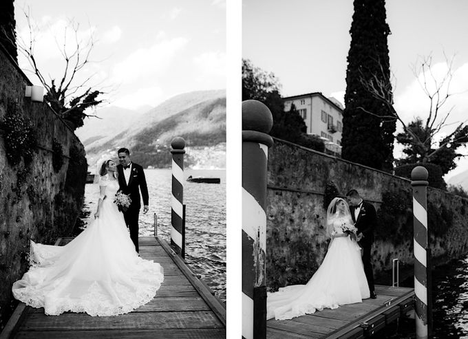 Luxury and classy destination wedding at Lake Como in Italy by Fotomagoria - 044