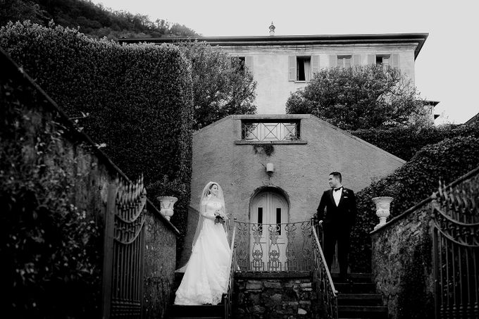 Luxury and classy destination wedding at Lake Como in Italy by Fotomagoria - 045
