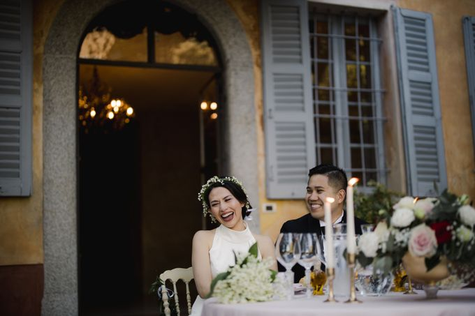 Luxury and classy destination wedding at Lake Como in Italy by Fotomagoria - 047