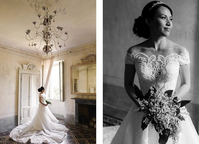 Luxury and classy destination wedding at Lake Como in Italy by Fotomagoria - 021