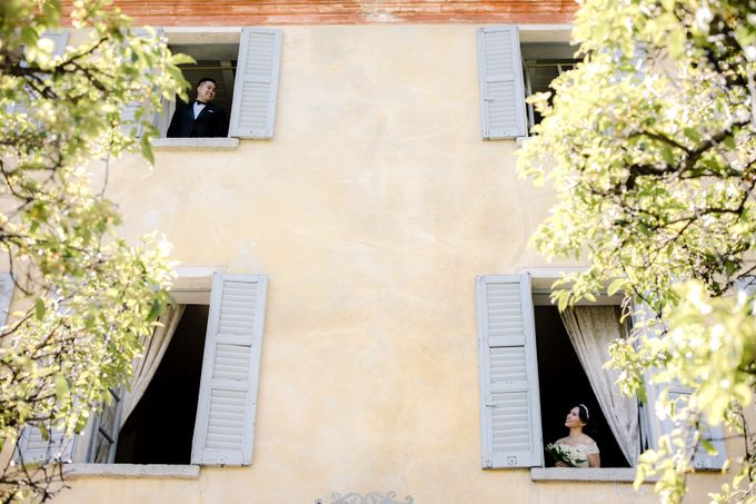 Luxury and classy destination wedding at Lake Como in Italy by Fotomagoria - 025