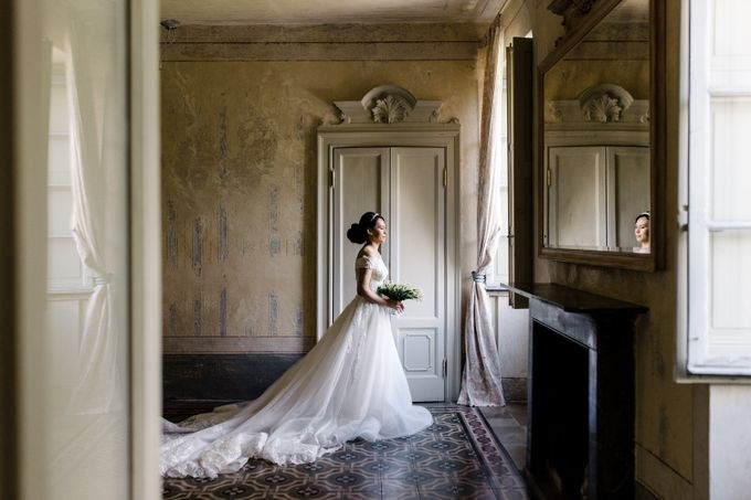 Luxury and classy destination wedding at Lake Como in Italy by Fotomagoria - 024