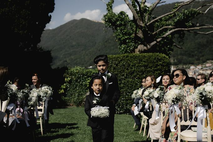 Luxury and classy destination wedding at Lake Como in Italy by Fotomagoria - 028