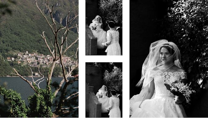 Luxury and classy destination wedding at Lake Como in Italy by Fotomagoria - 029