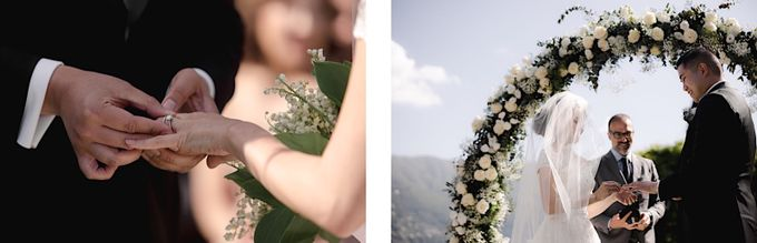 Luxury and classy destination wedding at Lake Como in Italy by Fotomagoria - 036