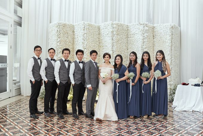 Wedding of Ferdian & Priska by Wong Hang Distinguished Tailor - 004