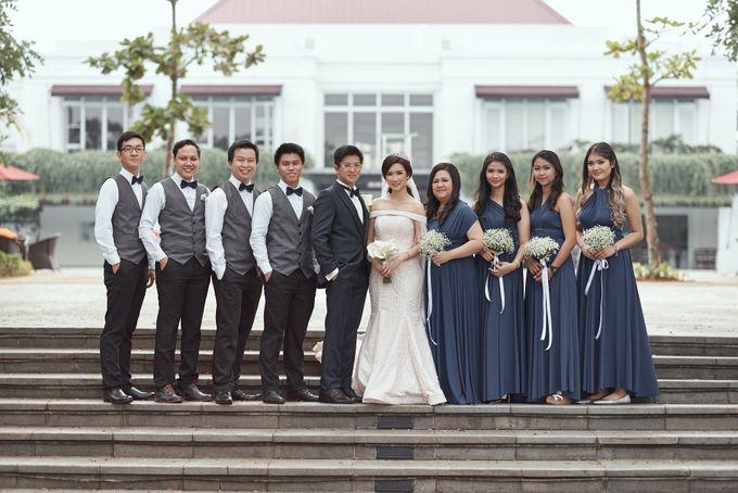 Wedding of Ferdian & Priska by Wong Hang Distinguished Tailor - 017