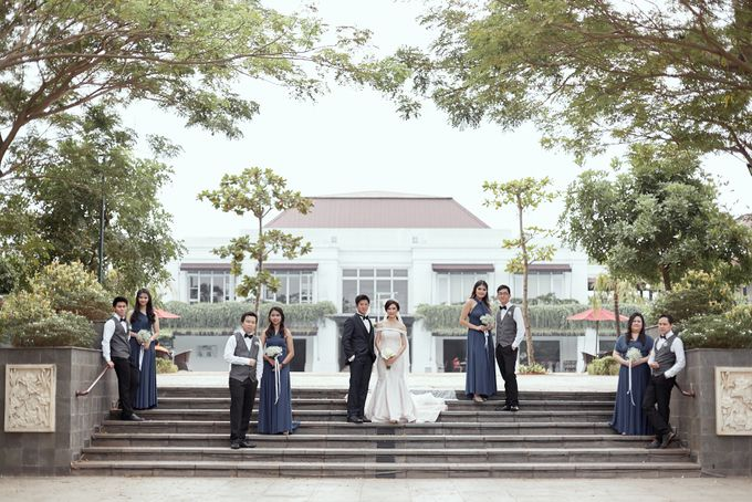 Wedding of Ferdian & Priska by Wong Hang Distinguished Tailor - 010