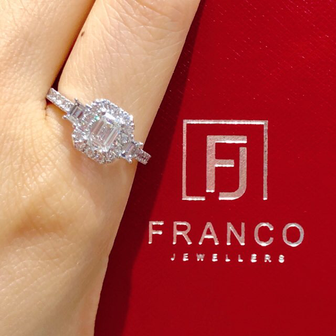 Custom Designed Wedding and Engagement Rings by Franco Jewellers - 001