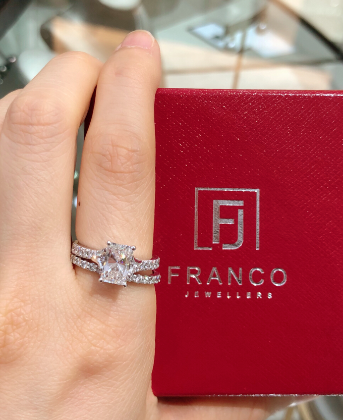 Custom Designed Wedding and Engagement Rings by Franco Jewellers - 003