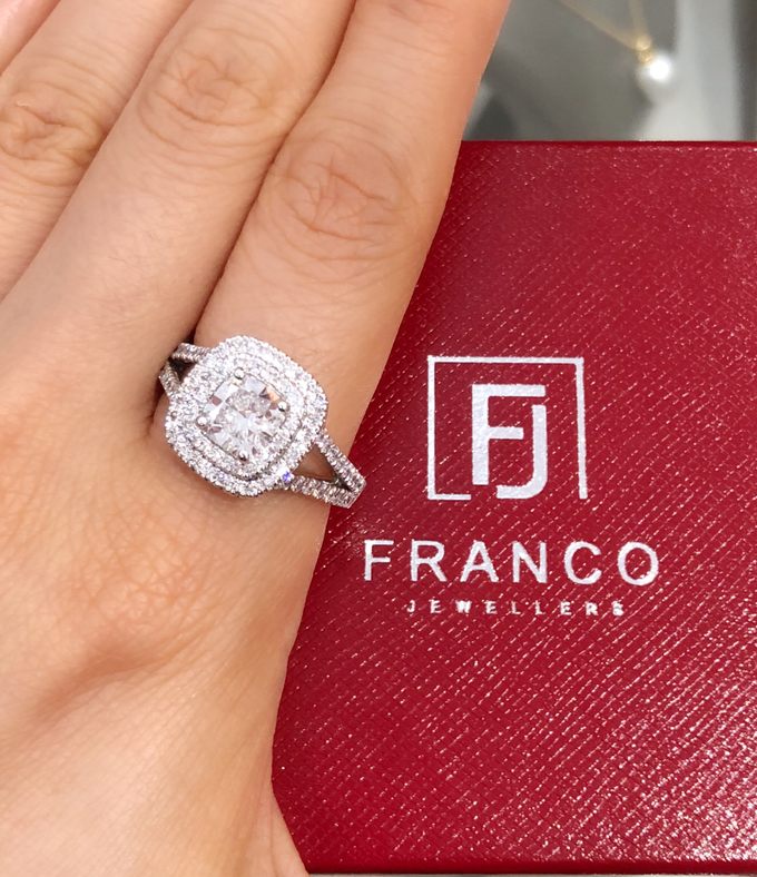 Custom Designed Wedding and Engagement Rings by Franco Jewellers - 004